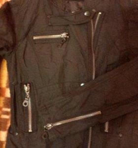 Куртка жакет ветровка buffalo черная новая