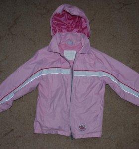 Куртка на девочку 7-8 л