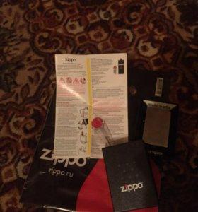 Zippo 207 Regular Street Chrome