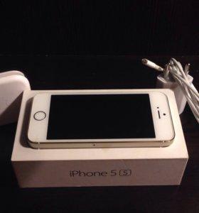 iPhone 5s Gold 64gb.