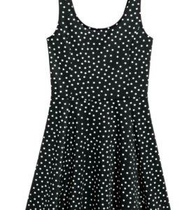 Платье в горошок
