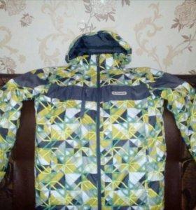 Зимняя лыжная куртка мужская