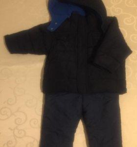 Куртка Old Navy и полукомбинезон и джинсы