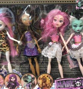 Монстрхай, Куклы , набор, monster high