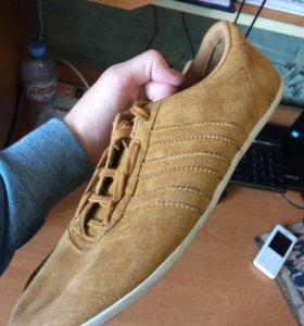 Замшевые кросы Adidas NEO