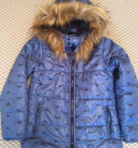 Куртка осень 8-9 лет