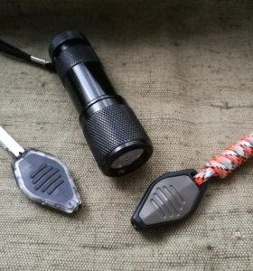 Три фонаря брелока Inova LED Microlight