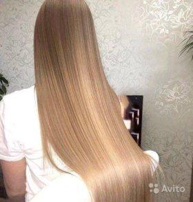 Кератиновое выпрямление ,Ботокс волос