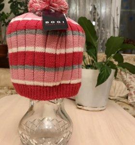 Новая детская шапка для девочек, осень-зима