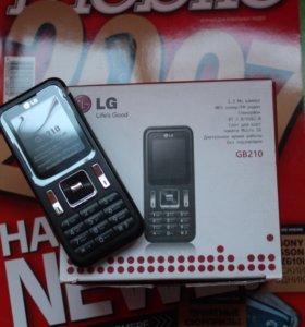 LG GB210 (ЛЖди 210) Ростест. Новый.