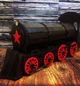 Сувенир бар-поезд