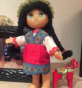 Кукла 26см,пластмасс,СССР