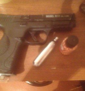 Пневматический пистолет Smersh