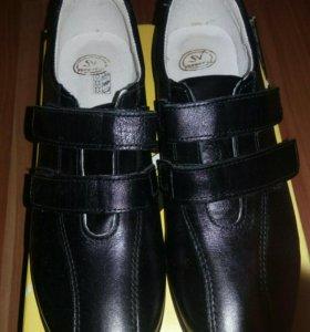 Туфли кожаные р.36 школьные