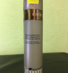 Крем шампунь для гладкости и блеска волос