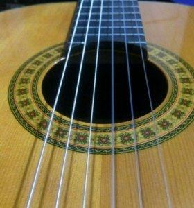 Гитара акустика нейлон.