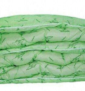 Новое бамбуковое 1,5-спальное одеяло