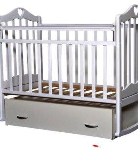Кровать детская, матрац