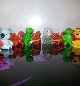 Киндер игрушки Зверьки Животные