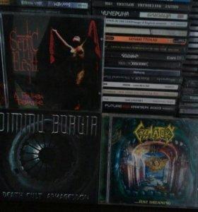 CD диски death,black итд.Цена от 50 до ...