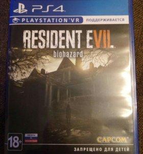 Resident Evil biohazard на PS4