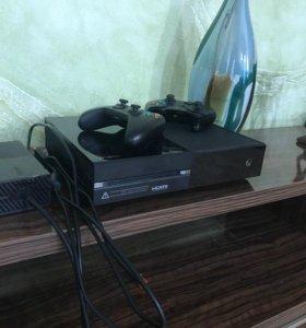 XBOX ONE 500 GB + 2 ГЕЙМПАДА + 30 ИГР