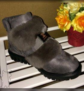 Ботильоны (ботинки) новые