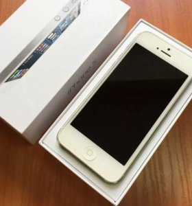 iphone 5 16gb (как новый)