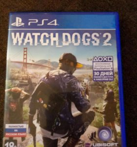 Watch Dogs 2 на PS4