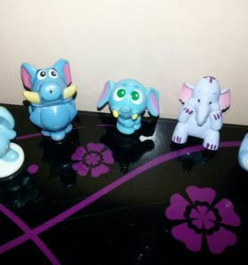 Киндер игрушки слоники