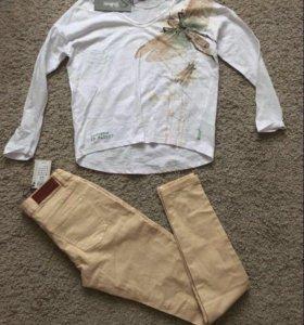Guliver свит+ Vero moda джинсы