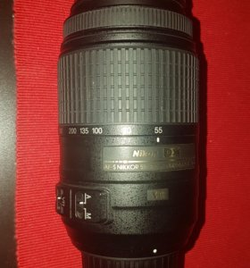 Фотообъектив nikon dx af-s nikkor 55-300mm