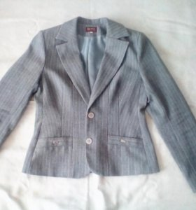 Костюм: пиджак+брюки+блузка