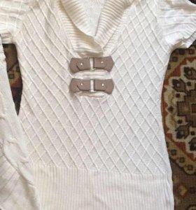 Безрукавка кофта свитер