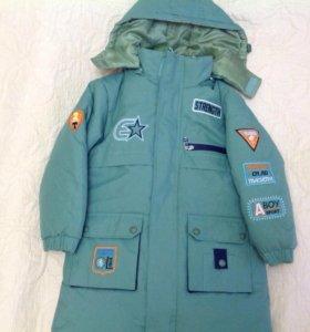 Куртка для мальчика демисезонная с подстежкой