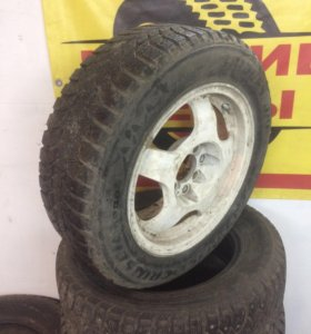 185/60 R-14 Bridgestone диски 4*114, 4*100