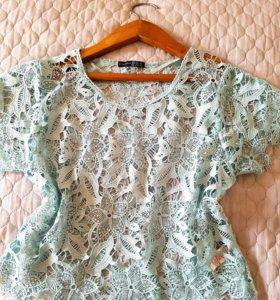 Очень красивая блузка 46 48р