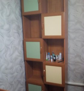 кровать с ортопедическим матрацом и шкаф