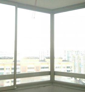 Алюминиевые раздвижные окна от застройщика
