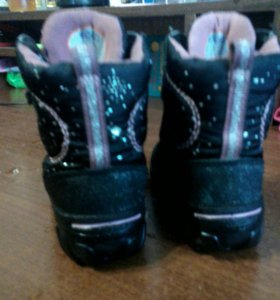 Ботинки Экко.