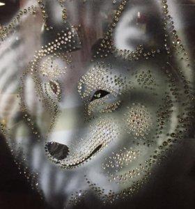 Картина из кристаллов Сваровски.