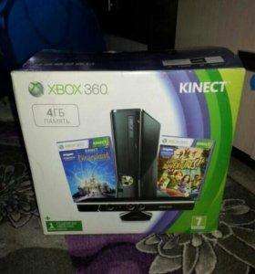 X box 360+kinect
