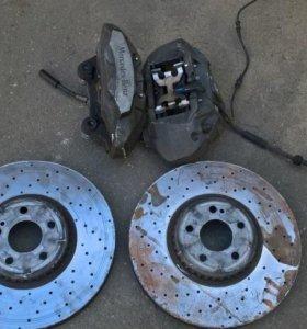 Передние суппорта тормозные диск Mercedes GLC X253