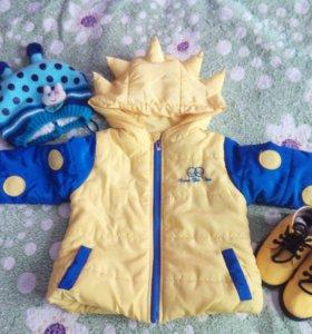 Куртка на рост 80-86
