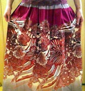 Пошив длинных юбок
