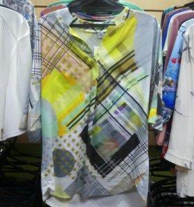 Рубашка, 100%хлопок, р48,52