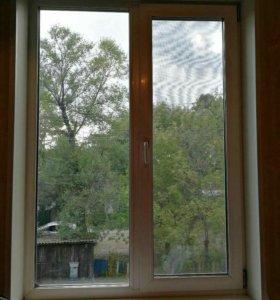 Пластиковые окна б/у(3шт)