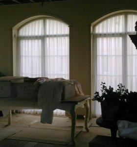 Пошив штор, покрывал.
