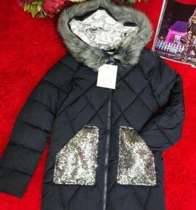 Куртка с паетками