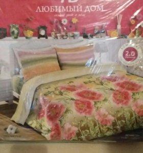 Продам 2х спальный комплект белья